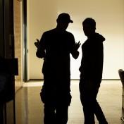 James Croke (Director) & Lindsay Farris (Adam)