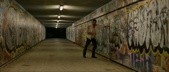 Drunk Man (Rob Flanagan) in the underpass